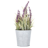 Mini Lavender Plant In Tin Container